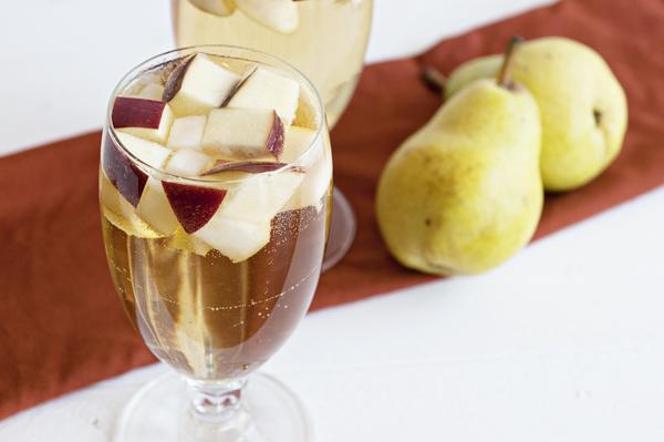 Apple Cider Sangria. Photo by Dine & Dish