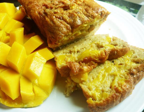 Gluten-Free Moist Mango and Nut Bread. Photo by gluten-free-me