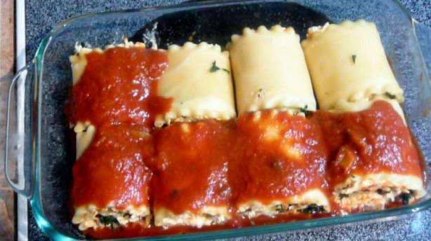 Mini Lasagna Roll Ups Recipe Food Com