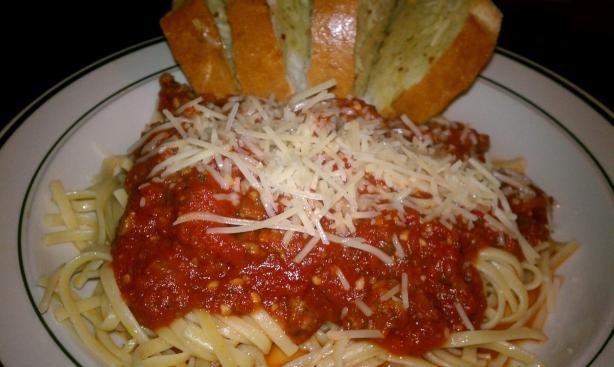 Easy Spaghetti Meat Sauce Recipe - Food.com