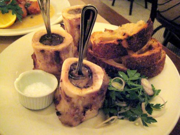Roasted Bone Marrow With Caramelized White Turnip Recipe from Cooklime ...