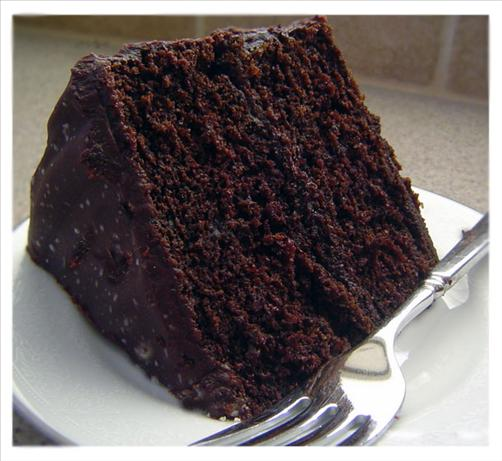 Double Chocolate Layer Cake Recipe - Baking.Food.com