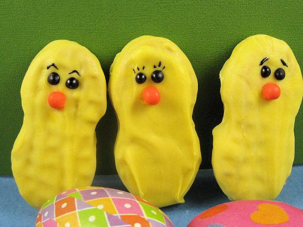 Nutter Butter Easter Chicks. Photo by Kathy at Food.com