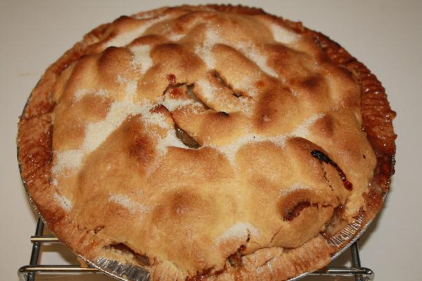 Perfect Apple Pie. Photo by Hope Rock