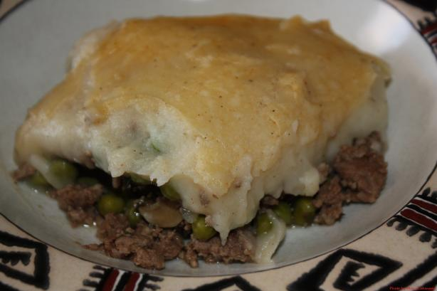 Traditional Shepherd's Pie. Photo by Mary Cokenour