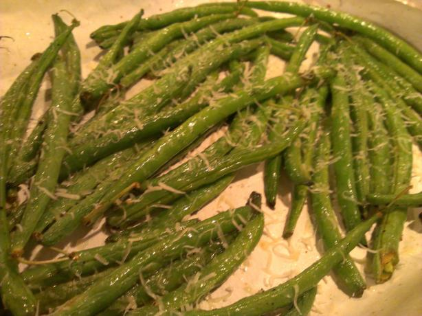 Roasted Zesty Parmesan Green Beans Recipe - Food.com