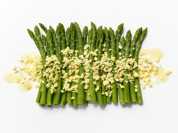 Asparagus Mustard Mimosa. Photo by TARGET® Recipes