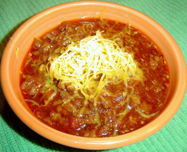 Easy Crock Pot Chili. Photo by Sue Lau