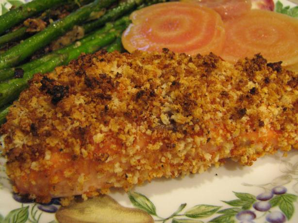Savory Panko-Crusted Salmon Recipe from Cooklime, ingredients, easy ...