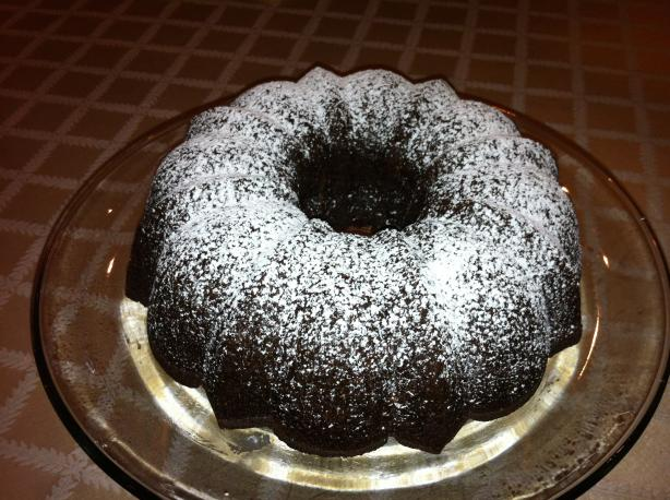 Chocolate-Banana Bundt Cake. Photo by Chef OG
