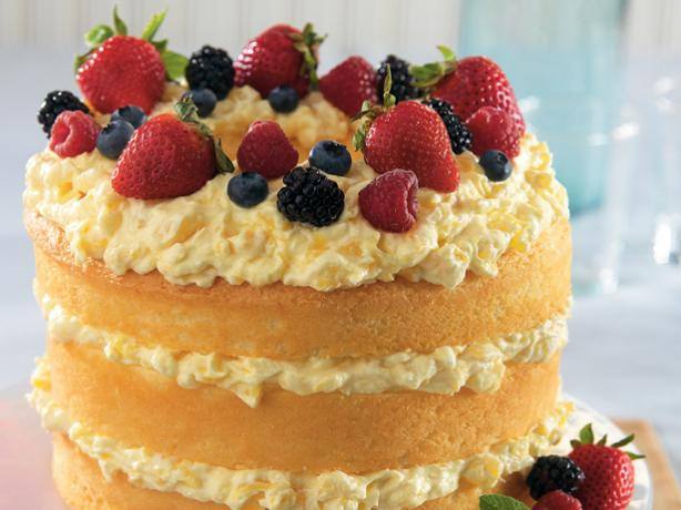 Dole Pineapple Angel Food Cake Recipe