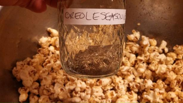 Creole Spiced Popcorn. Photo by Elmotoo