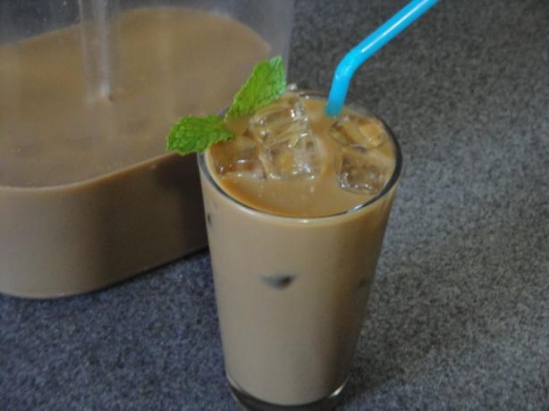 Thai Iced Coffee - 12 Hour Brew Technique. Photo by Muffin Goddess