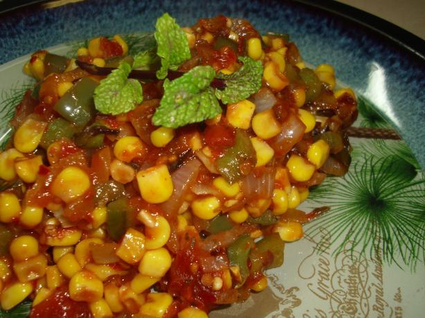 Maque Choux (Cajun Corn Sautee). Photo by Karen Elizabeth