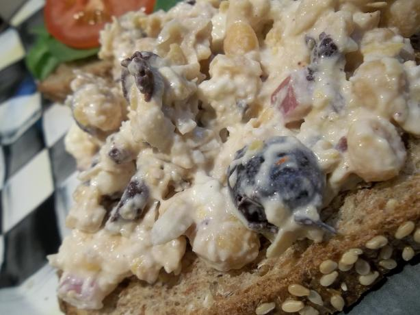 Smashed Chickpea Greek Salad Sandwich Recipe - Food.com