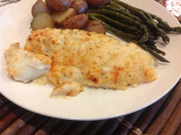 Baked Haddock in Cream Sauce(Iceland). Photo by Dr. Jenny