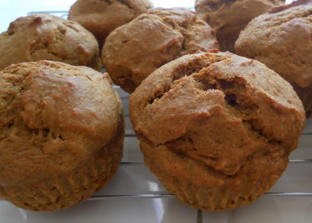 Pumpkin Nut Muffins. Photo by kindcook
