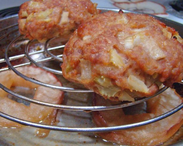 Apple And Sausage Patties Recipe — Dishmaps
