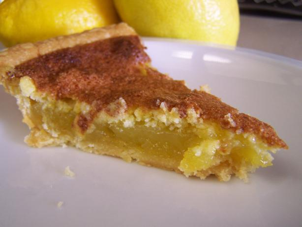 Southern Lemon Chess Pie. Photo by CarolAT