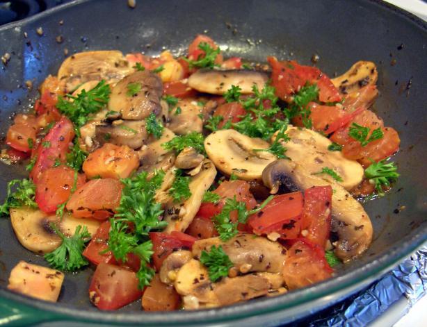 Wild Mushroom Salad Recips Recipes — Dishmaps