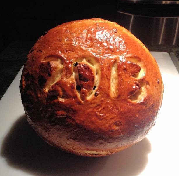 Vasilopita (New Year Bread). Photo by linkot_4965160