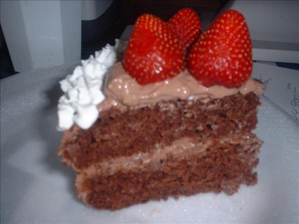 Fat free chocolate cake recipe for Non fat cake recipes