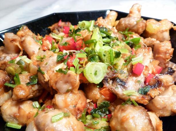 Mushroom Salt & Pepper