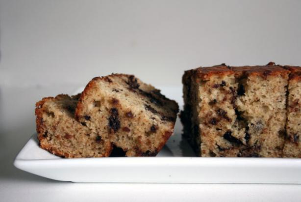 Chocolate Chip Banana Snack Cake. Photo by lilsweetie