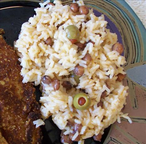 Spanish Rice And Pigeon Peas Arroz Con Gandules) Recipe - Food.com