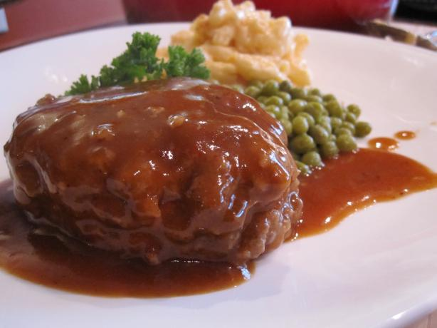 The Very Best Salisbury Steak. Photo by Stirring the Pot