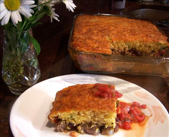 Tamale Pie With Cheddar And Cornmeal Crust Recipe - Food.com