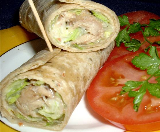 Chicken Caesar Wrap Recipe - Food.com