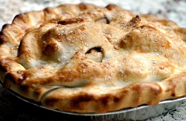 Deep-Dish Apple Pie. Photo by Andi of Longmeadow Farm