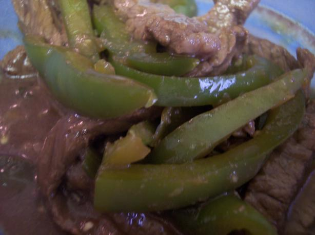 Green Pepper Steak Recipe Healthy Food Com