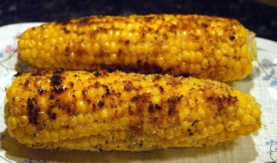Corn on the Cob in a Garlic Butter Crust. Photo by -Sylvie-
