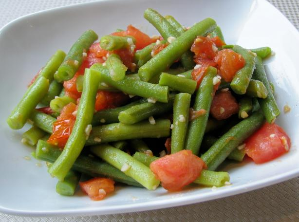 Sauteed Green Beans With Tomato And Garlic Recipe - Food.com