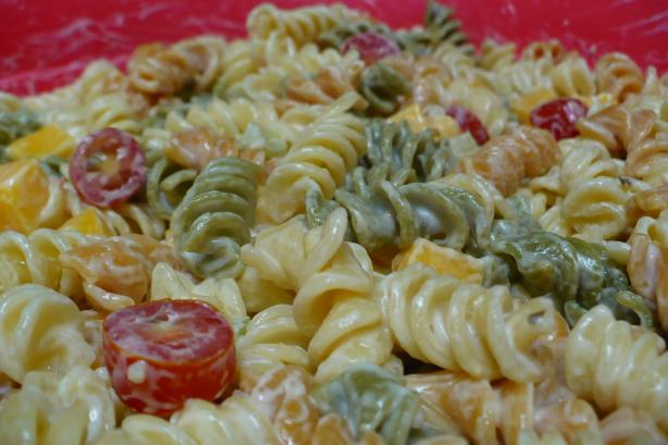 super easy pasta salad recipe