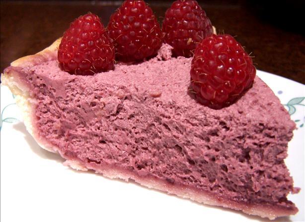 Easy Raspberry Cream Cheese Chiffon Pie Recipe - Food.com