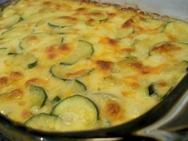 Alice's Zucchini Cheese Casserole. Photo by *Parsley*