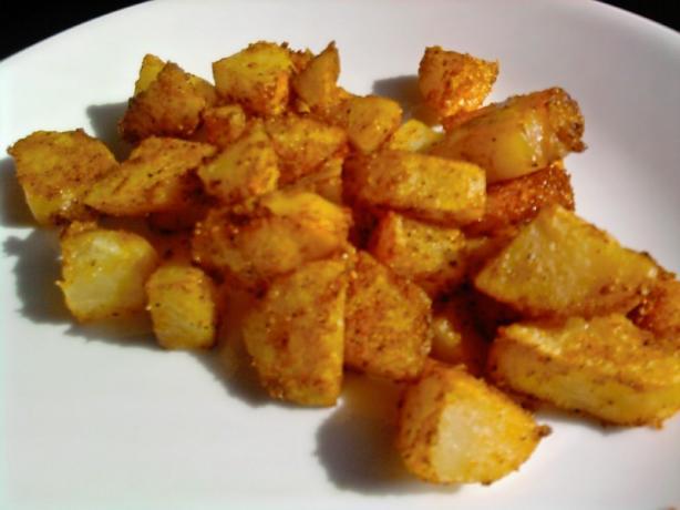 Roasted Parmesan Potatoes. Photo by sloe cooker