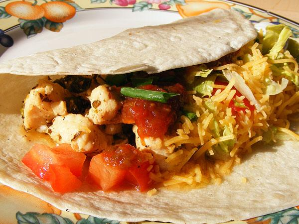Lime Chicken Soft Tacos. Photo by Lavender Lynn
