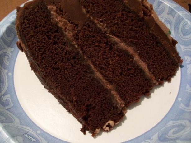 Perfect Chocolate Cake With Whipped Cream Filling Recipe ...