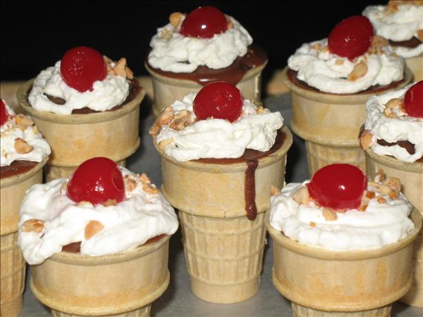 Cakes In A Cone Recipe - Food.com