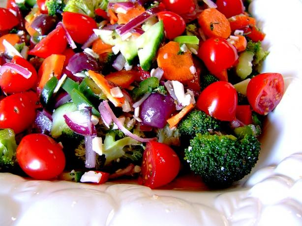 salad download by as with most marinated salads marinated vegetable ...