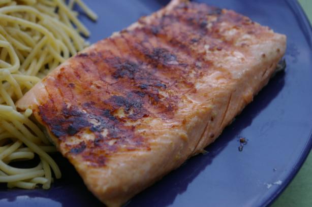 Salmon With Honey And Mustard Glaze Recipe - Food.com