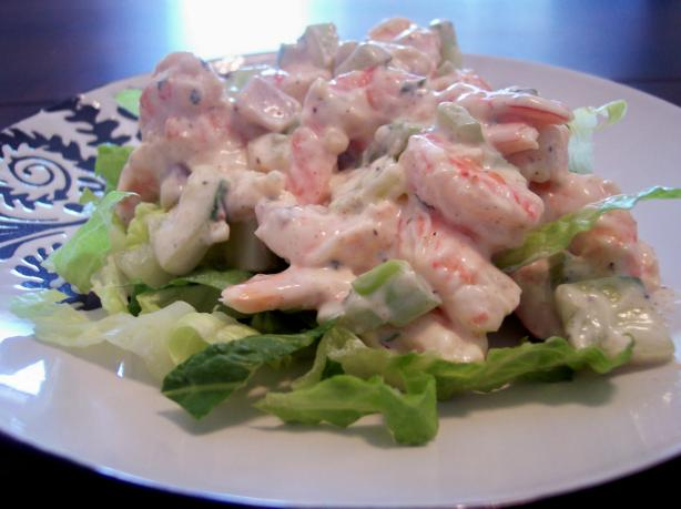 how to make shrimp salad with mayo