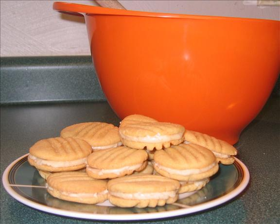 Caramel Cream Sandwich Cookies. Photo by HisPixie
