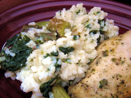 Http Www Food Com Recipe Baked Asparagus Spinach Risotto