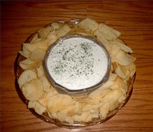 Sweet Onion Dip. Photo by Donna Luckadoo