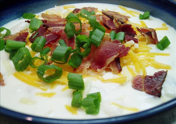 Delicious Cheesy Baked Potato And Bacon Soup Recipe - Food.com